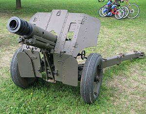76 mm mountain gun M48 - A Croatian M48 photographed in 2011