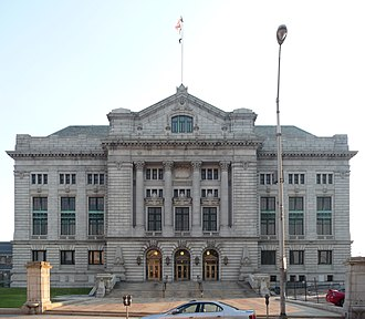 Five Corners, Jersey City - Hudson County Courthouse