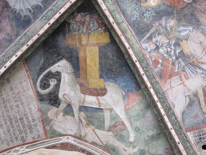 L'elefante Soliman e il suo viaggio verso Bressanone