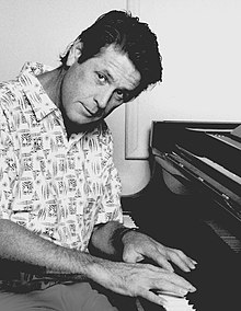 Brian Wilson of the Beach Boys in West Los Angeles 1990 photographed by Ithaka Darin Pappas.jpg