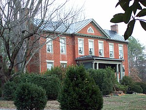 National Register of Historic Places listings in Amherst County, Virginia - Image: Brick House Clifford Dec 08