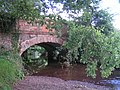 Bridge over the river Kenn, near Willsworthy Farm - geograph.org.uk - 951029.jpg