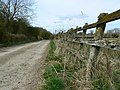 Bridleway to Park Grounds Farm, near Wootton Bassett - geograph.org.uk - 1219559.jpg