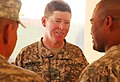 Brig. Gen. John McGuiness takes time to speak with soldiers (4782317389).jpg