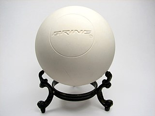 Lacrosse ball Ball used for lacrosse