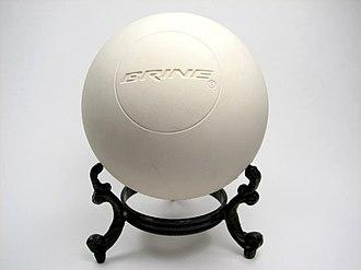 Lacrosse ball - A lacrosse ball