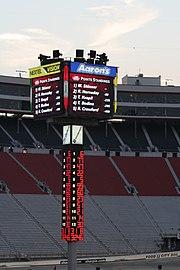 Scoring pilon in August 2007