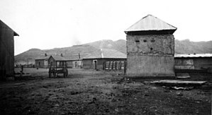 Brite Ranch raid - The fort at Brite Ranch, which was built sometime after the raid in 1918