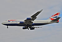 G-CIVV - B744 - British Airways