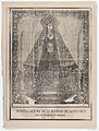 Broadsheet with image of Our Lady of Solitude of Santa Cruz, venerated in Mexico MET DP867950.jpg