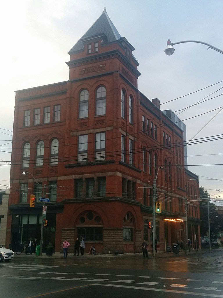 The Broadview Hotel in South Riverdale in Toronto's East End