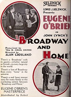 <i>Broadway and Home</i> 1920 film directed by Alan Crosland