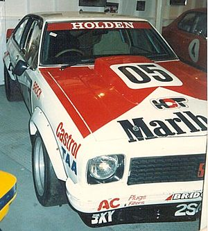 Peter Brock - Brock's Bathurst winning Torana