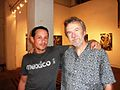 Brockton McKinney with friend at Gallery opening.jpg