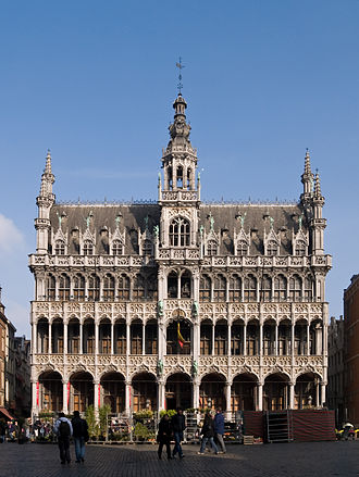 Museum of the City of Brussels - The Maison du Roi/Broodhuis building housing the museum.