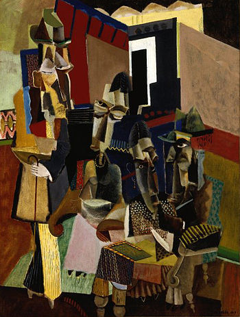 Brooklyn Museum - The Visit - Max Weber - overall
