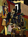 Brooklyn Museum - The Visit - Max Weber - overall.jpg