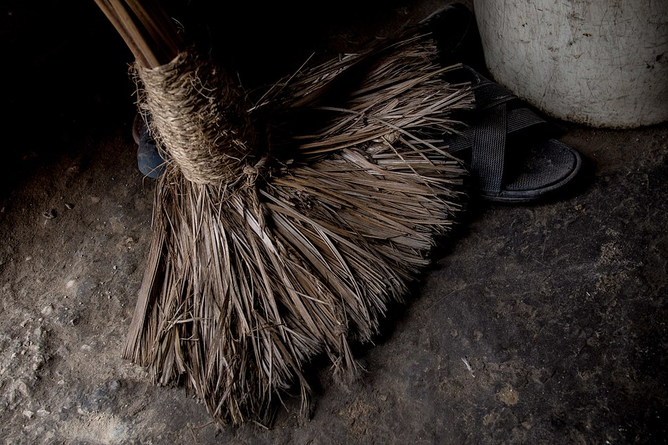 Broom from a home in Haiti