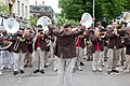 Brown University band at Commencement 2009.jpg