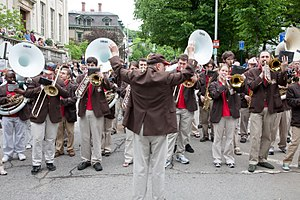 Brown University Band - The Brown University Band at 2009 Commencement