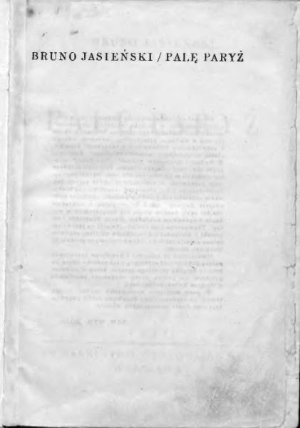 File:Bruno Jasieński - Palę Paryż.djvu