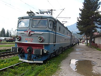 Electroputere - 5100 kW CFR Class 41 Electric locomotive currently in operation by Romanian CFR