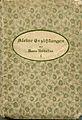 Buchcover, Marie Nathusius, Kleine Erzaehlungen, 1893.jpg