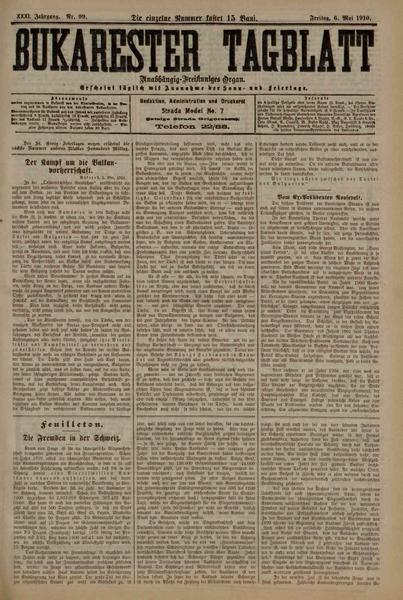 File:Bukarester Tagblatt 1910-05-06, nr. 099.pdf