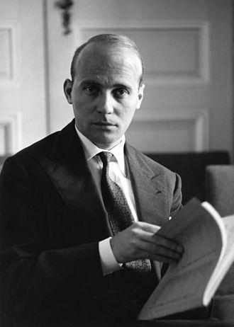 Hans Werner Henze - Henze in 1960