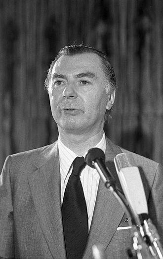 1979 European Parliament election in Belgium - Image: Bundesarchiv B 145 Bild F050938 0028, Bonn, Tagung CDU Bundesausschuss, Tindemans