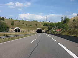 Bundesautobahn 8 - tunnel Perlinger Berg.jpg