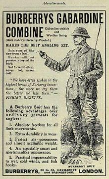 1908 Burberry's advertisement[1]