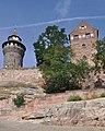 Burg (Nürnberg-St. Sebald).Walpurgiskapelle, Freiung und Sinwellturm.fw13.ajb.jpg