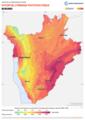 Burundi PVOUT Photovoltaic-power-potential-map lang-FR GlobalSolarAtlas World-Bank-Esmap-Solargis.png