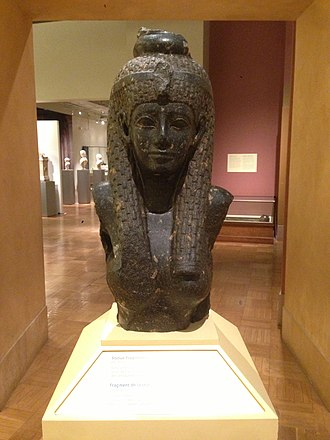 Bust of Cleopatra - Image: Bust of Cleopatra at the Royal Ontario Museum