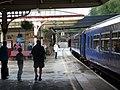 Butterley railway station, Midland Railway, Ripley, Derbyshire. View south.jpg