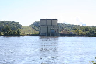Byron Nuclear Generating Station - The water facility that brings water to and from the Byron Plant from the Rock River.