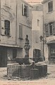 Céret - Fontaine des Neuf Jets (carte postale Labouche).jpg