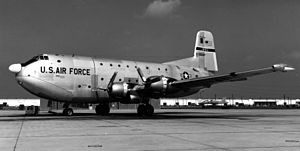 916th Air Refueling Wing - A 916th MAG C-124C Globemaster II.