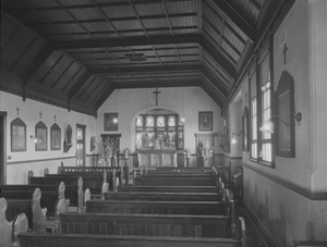 Christian Brothers' College, Perth - Christian Brothers College, Perth Chapel 1932