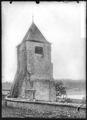 CH-NB - L'Abbaye, Église, Tour, vue partielle extérieure - Collection Max van Berchem - EAD-7155.tif