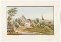 CH-NB - Schlosswil, Pfarrhaus und Kirche - Collection Gugelmann - GS-GUGE-WEIBEL-D-120a.tif