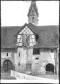 CH-NB - Stein am Rhein, Kloster Sankt-Georgen, vue partielle extérieure - Collection Max van Berchem - EAD-6983.tif