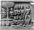 COLLECTIE TROPENMUSEUM Detail van reliëf O 149 op de verborgen voet van de Borobudur TMnr 10015657.jpg