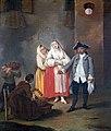 Ca' Rezzonico - La venditrice di frittole - Pietro longhi 1755.jpg