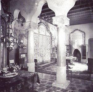 Casa Trinxet - Interior of the Casa Trinxet.