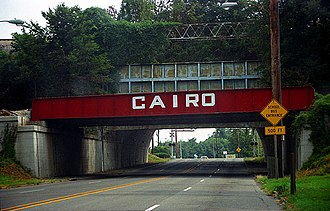Cairo, Illinois - The Cairo Levee underpass