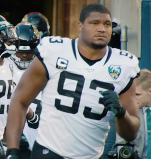 Calais Campbell American football defensive tackle