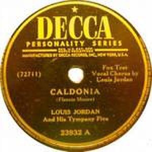 Caldonia - Image: Caldonia Louis Jordan