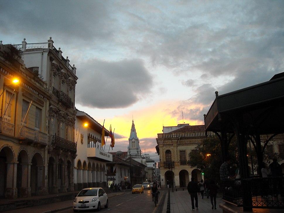 Calles Centro Histórico de Cuenca